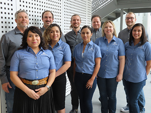 The Austin Civil Team, January, 2019